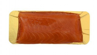 Salmon loin, cold smoked